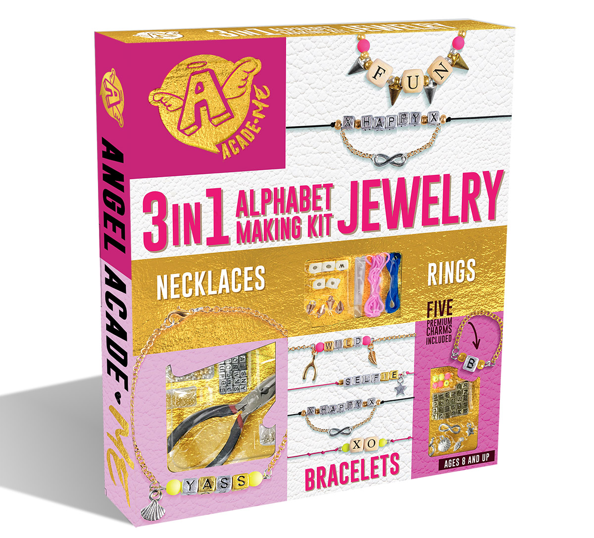 3 IN 1 ALPHABET JEWERLY MAKING KIT